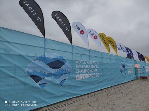 Melat Kejeta vom Laufteam Kassel führt die deutsche Mannschaft bei der Halbmarathon-WM im polnischen Gdynia an